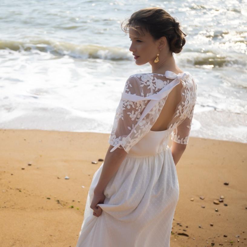Robes sur-mesure mariée