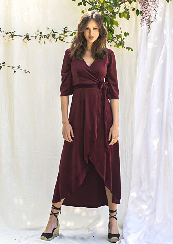robe cocktail mariage