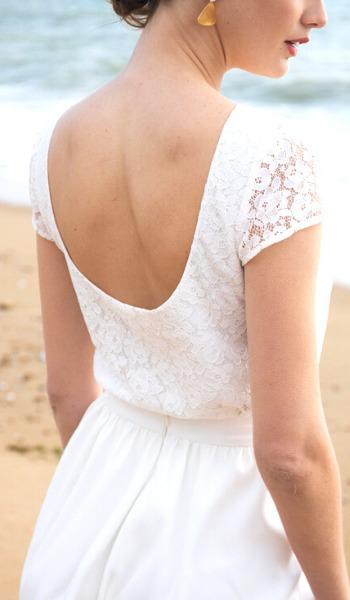 tenue mariée civile