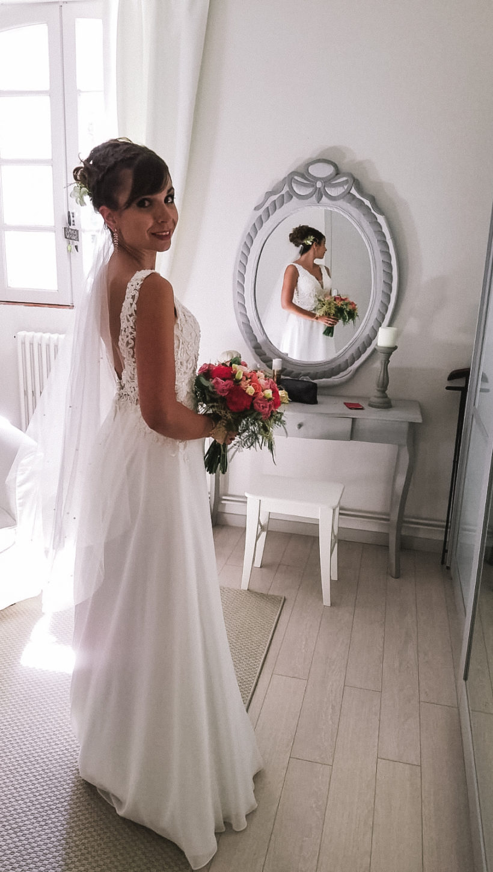 Douce mariée sophie